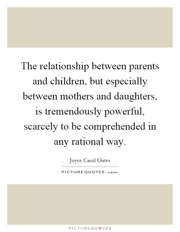 Essay about the relationship between parents and children