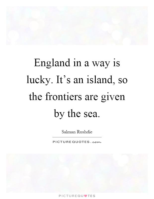 england island quote