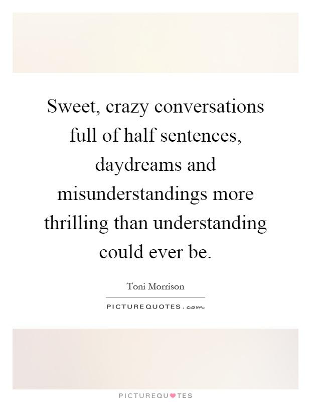 sweet sentence