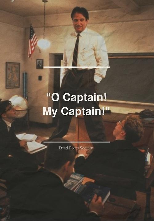 O Captain! my Captain! Picture Quote #1