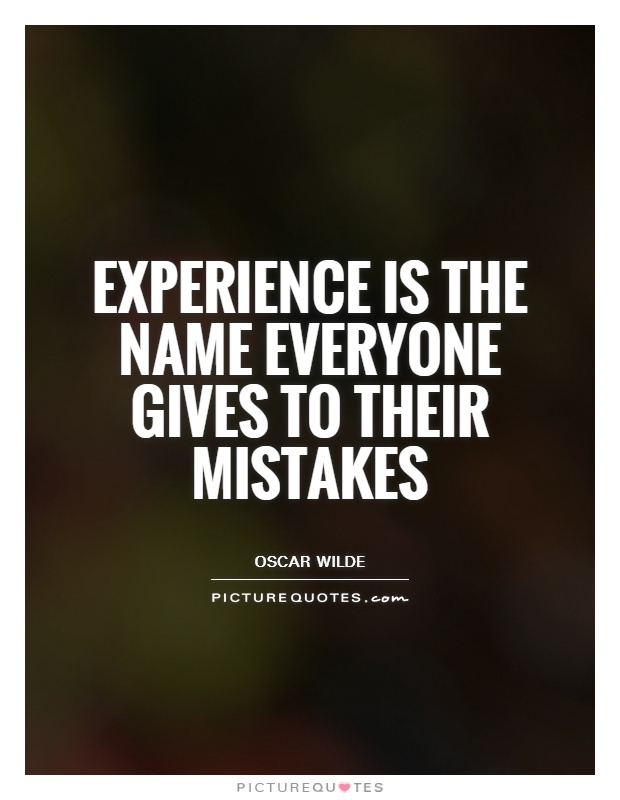 everyone can learn from their mistakes essay