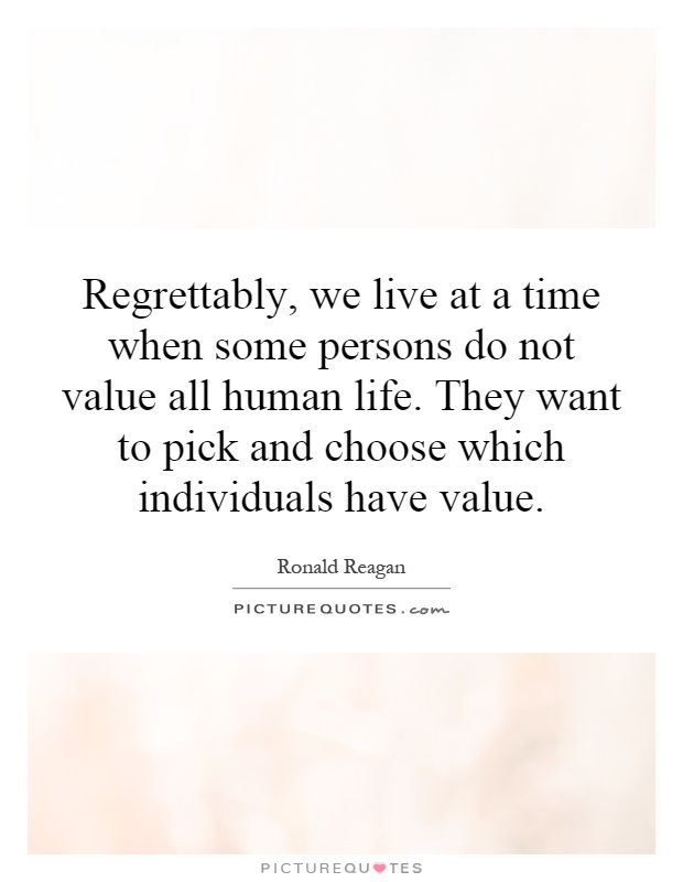 quotes about the value of human life
