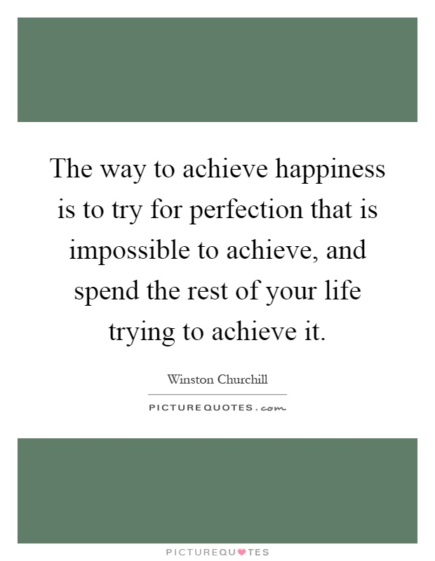 Perfection Is Impossible Quotes, Quotations & Sayings 2018