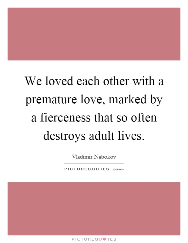 Mature love quote