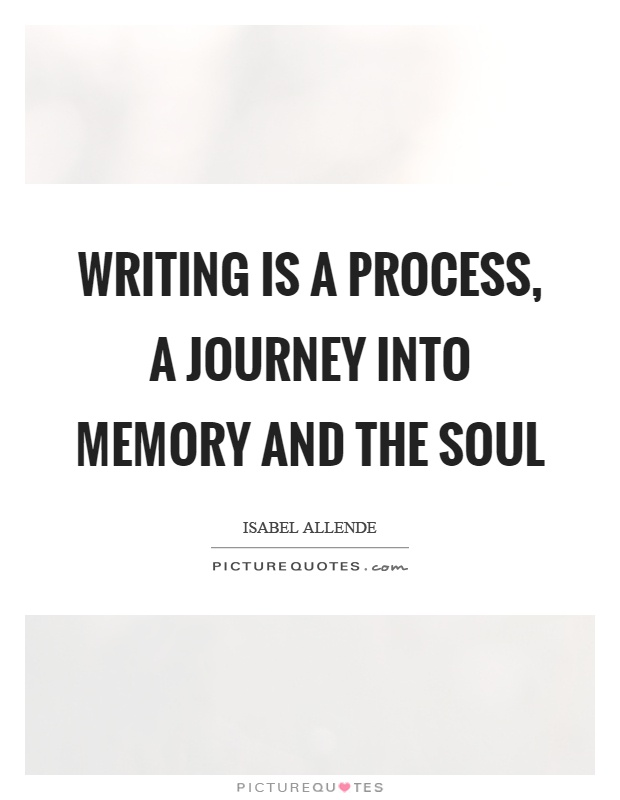 writing is a journey A couple of months back, i started chronicling my experience with writing the first draft of a novel if you haven't yet, you might want to read my novel-writing journey, part 1: getting started before you read the following post i feel like i've made a lot of progress on the manuscript since.