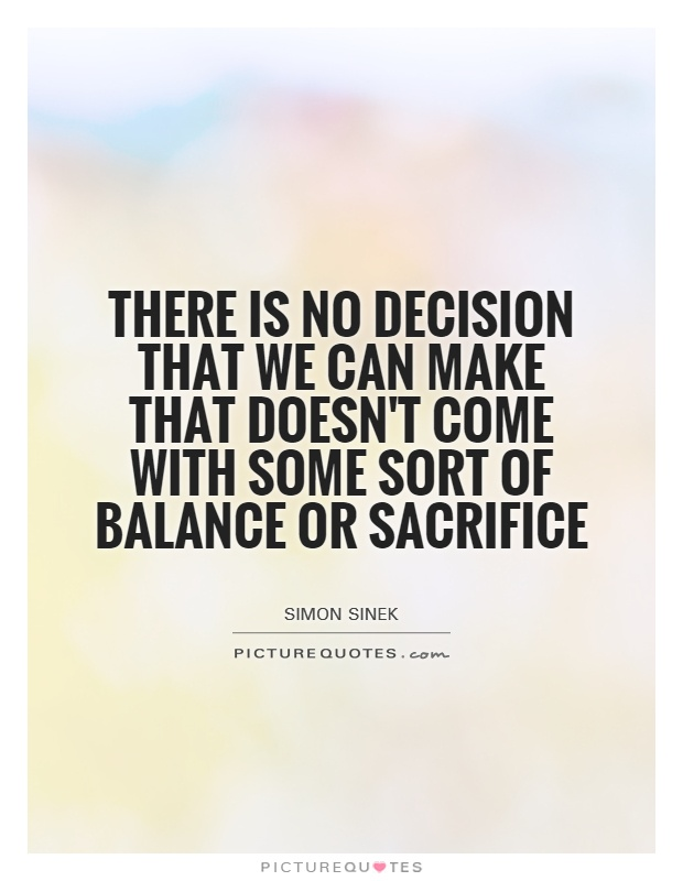 where there is no decision there Most importantly, they are decisions for which there is no clear, right answer leadership teams tend to perseverate over this sort of decision for a long time, collecting more data.