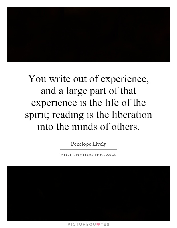 experiences as a part of life