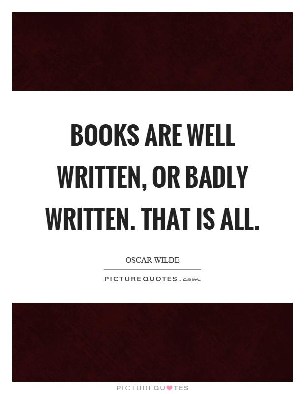 Well written books