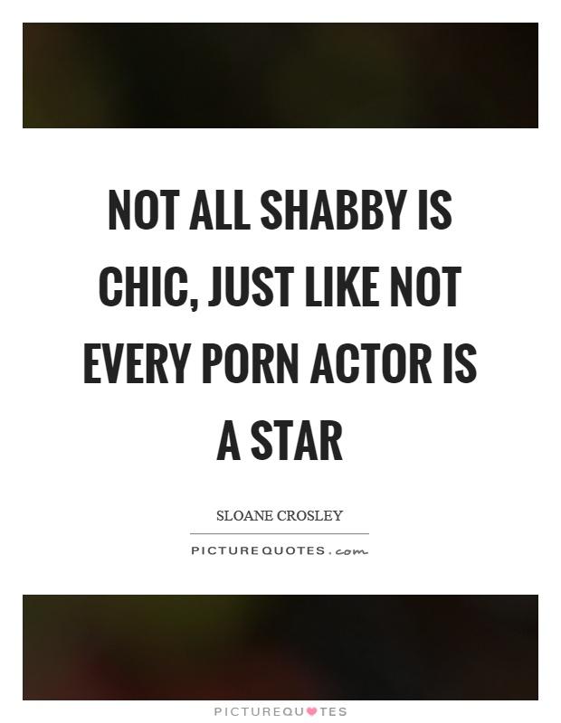 Shabby porn
