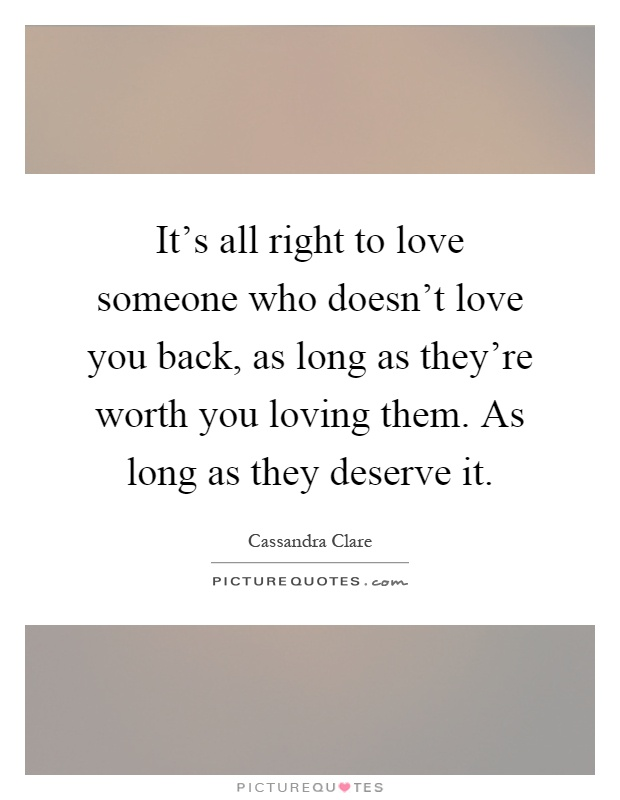 The gallery for --> Loving Someone Who Doesnt Love You ...