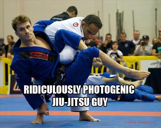 Ridiculously photogenic Jiu-Jutsu guy Picture Quote #1