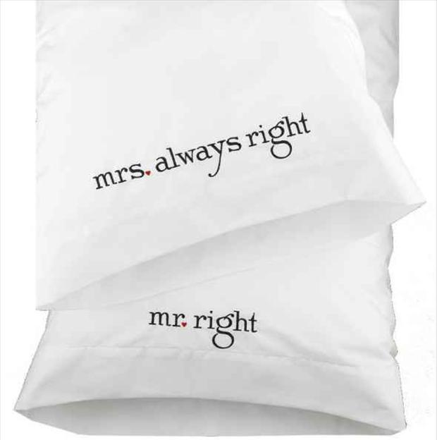 Mrs. always right. Mr. right Picture Quote #1