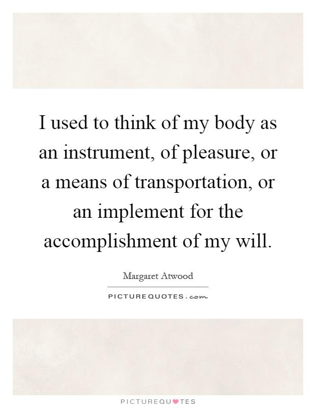 pleasure means my