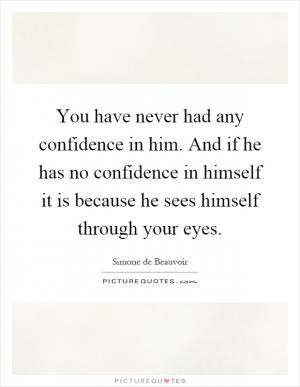 Vote of confidence quotes