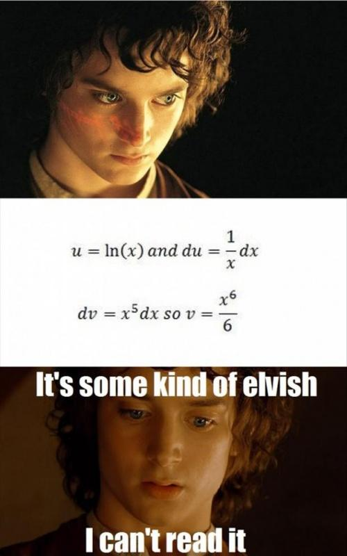 It's some kind of elvish. I can't read it Picture Quote #1