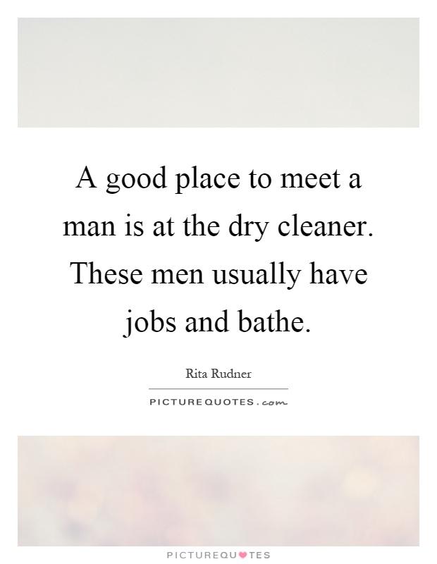best place to meet a good man