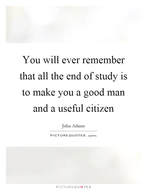 What makes a good citizen essay