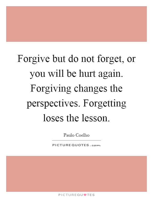 spirit ways forgive forget