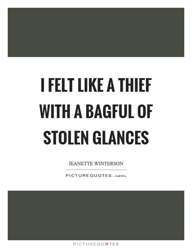 Stolen glances