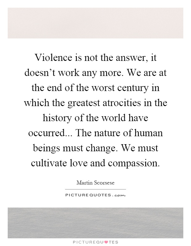 violence is not the answer essay Is violence ever the answer 61% say yes 39% say no vilance is awesome this is an argument about vilance witch is all ways the ancwer vilance is an act l,ike if a kid or adalt threatens to hit u hit back just let them hit u first then beat the fuck out of them ok let the bitch get owned like a wresteling match fuck them up  violence is not.