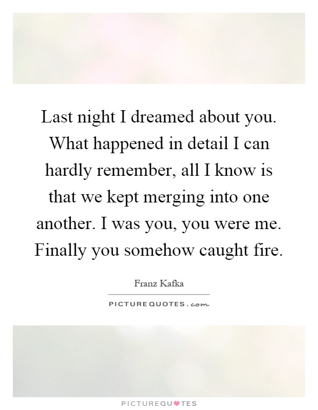 What I Dreamed Last Night (reprise) lyrics