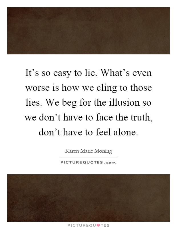 Why do we lie?