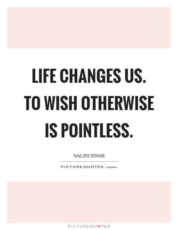 life is pointless quotes