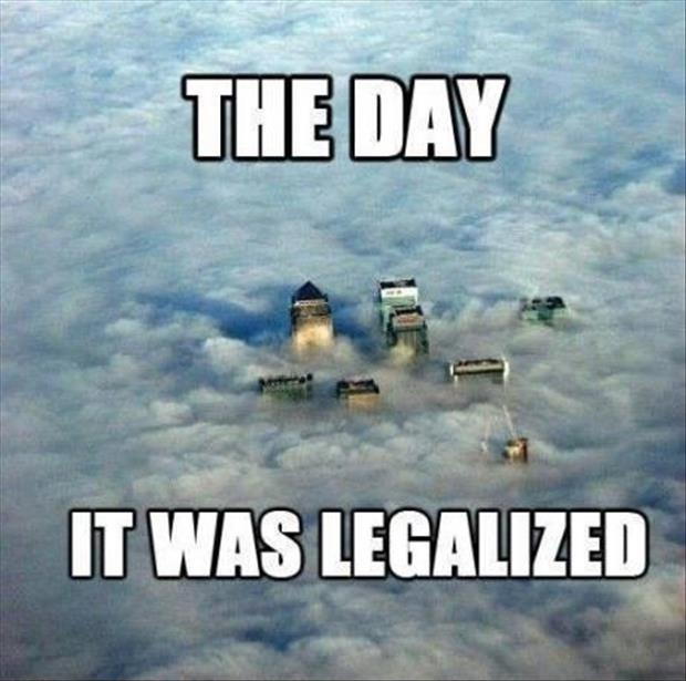 The day it was legalized Picture Quote #1