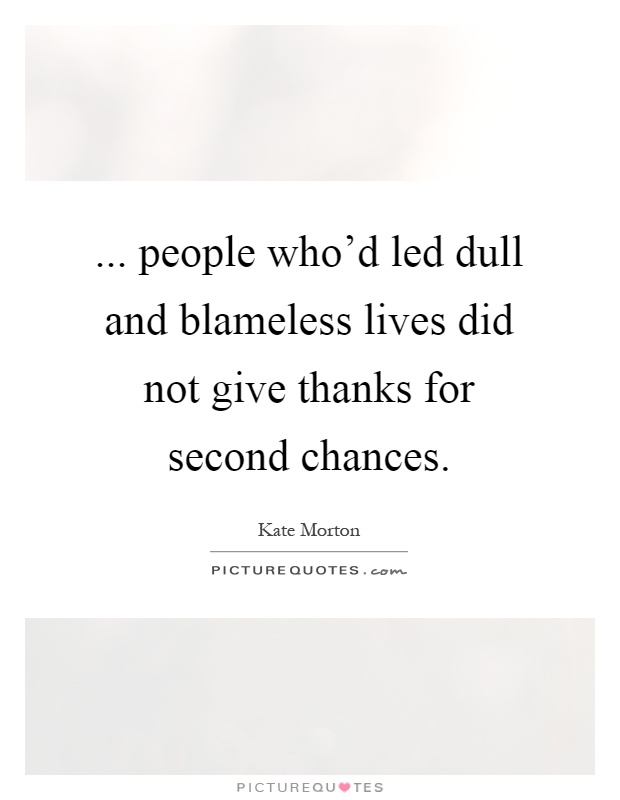 Second Chance Quotes & Sayings | Second Chance Picture