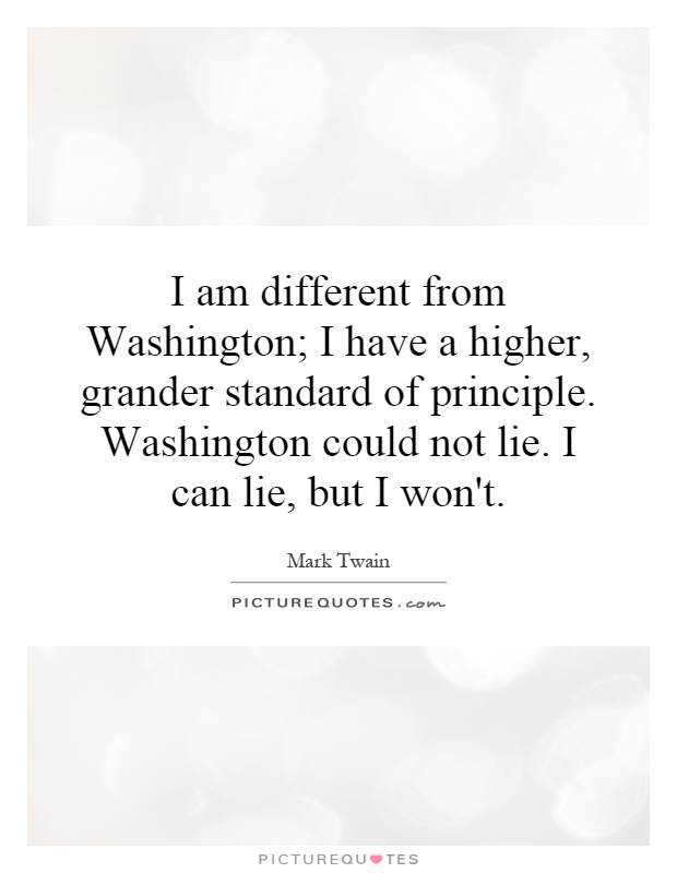 I Am Different Quotes I am different from Wa...