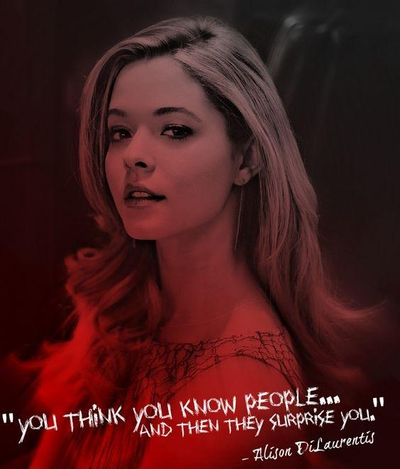 You think you know people... and then they surprise you Picture Quote #1