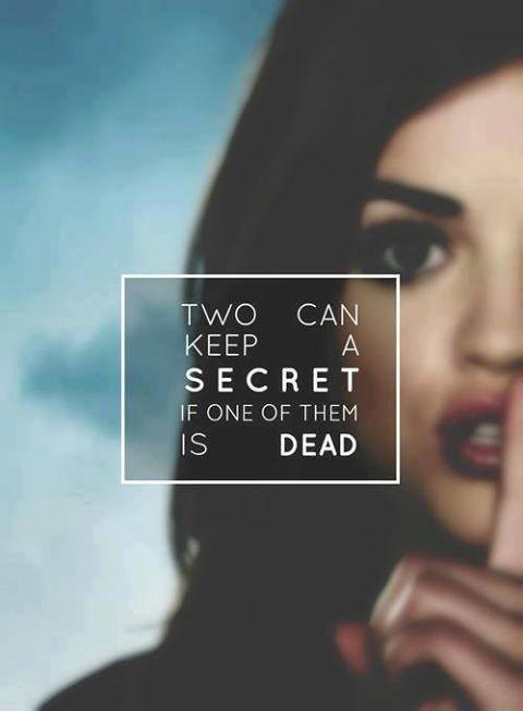 Two can keep a secret if one of them is dead Picture Quote #1