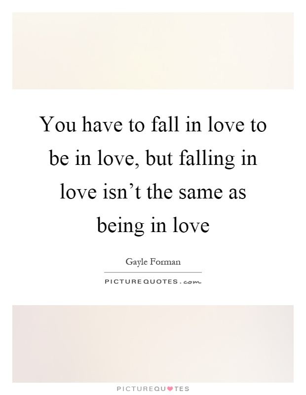 Being In Love Quotes & Sayings