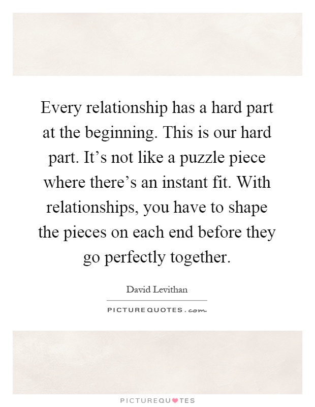 Puzzle Piece Quotes & Sayings