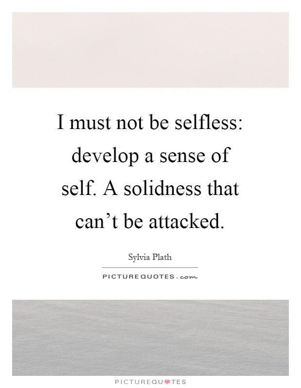 Definition of Sense of self