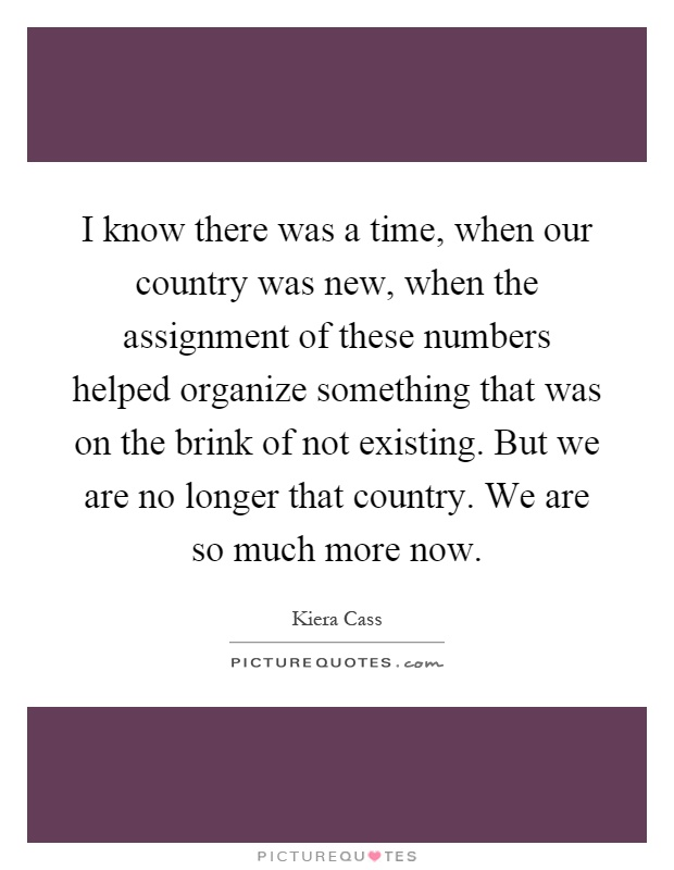 Assignment Quotes   Assignment Sayings   Assignment Picture Quotes PictureQuotes com I know there was a time  when our country was new  when the assignment