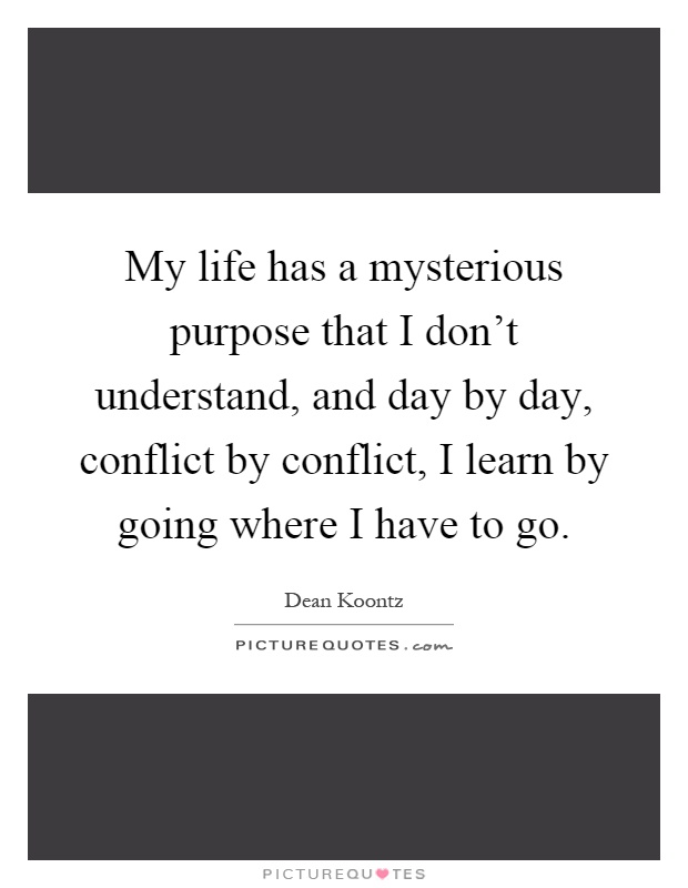 my life has a purpose Do you have a sense of purpose for decades, psychologists have studied how  long-term, meaningful goals develop over the span of our lives.