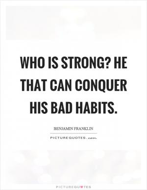 two way to break the bad habits You won't be able to learn how to break bad habits without one of  there are  two additional key points that stand out from babauta's guide.