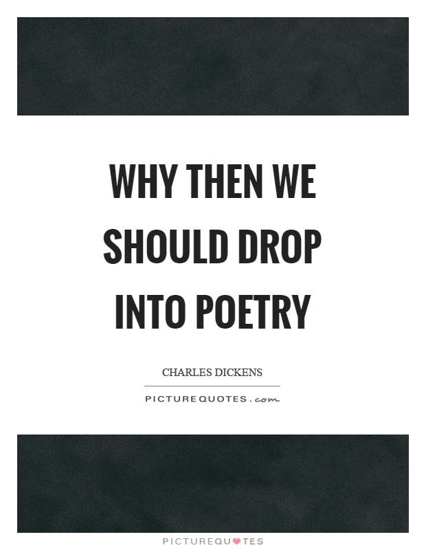 why should we study poetry Students applying to study biological sciences might be asked why  they know  about (probably much more than i do) to tackle questions of.