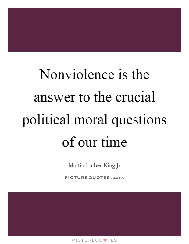 a question of morality in our society But never the less we often find it fit to impose our morality on  to society morality does not get its importance  is a difficult question.
