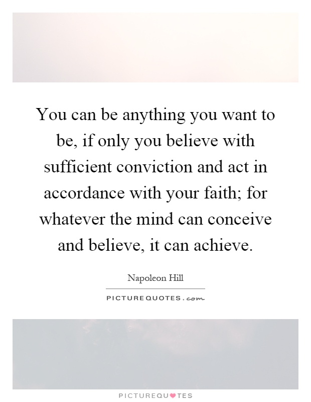 essay on with faith you can achieve anything