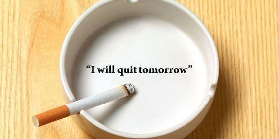 I will quit tomorrow Picture Quote #1