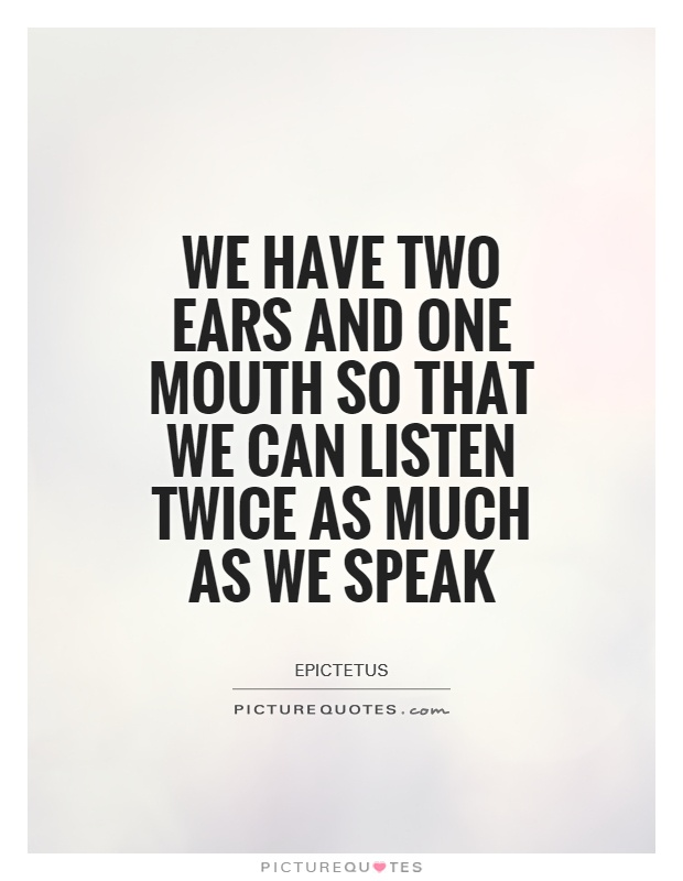 Listening Quotes | Listening Sayings | Listening Picture ...