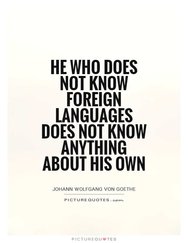 Foreign Language Quotes & Sayings   Foreign Language Picture Quotes