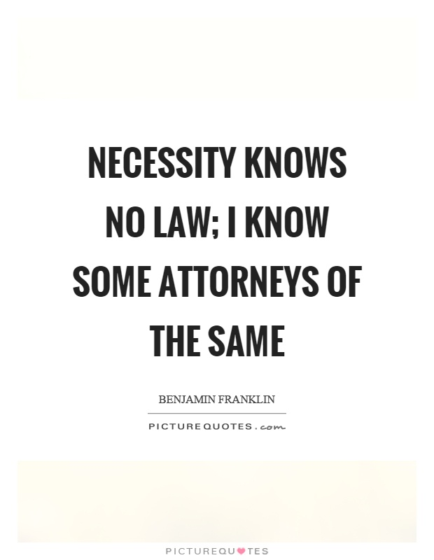 necessity knows no law Abraham lincoln and the doctrine of necessity allen c guelzo one thing that we do know is that and of laws, and no one was responsible for what he was.