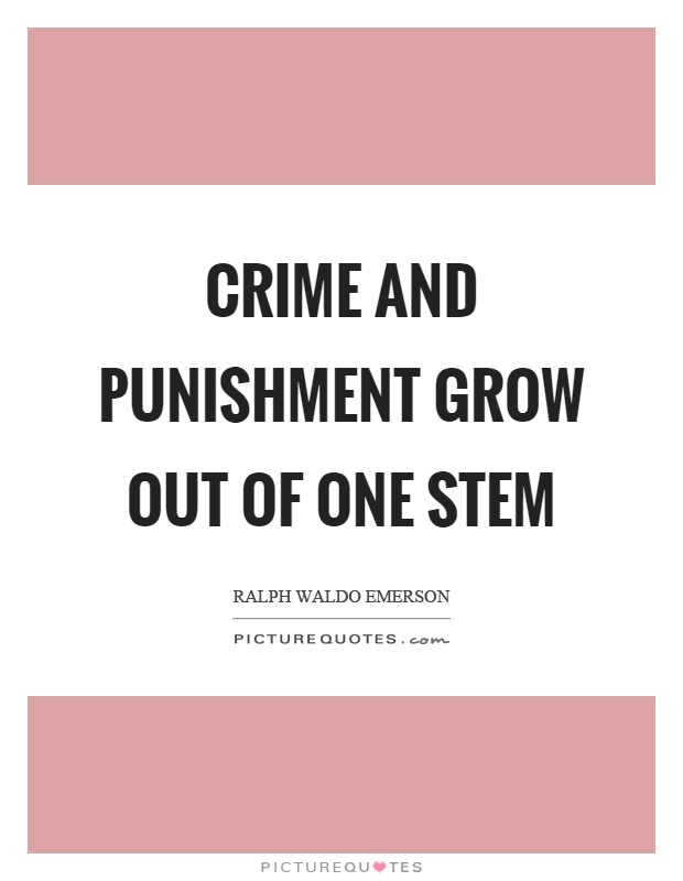 roman crime and punishment essay Read this college essay and over 1,500,000 others like it now don't miss your chance to earn better grades and be a better writer.