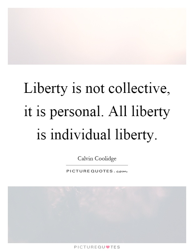 on liberty chapter 3 of individuality Therefore individual liberty, as mill's defines it, can only be enjoyed by those  fovored by material status  my brief analysis will deal specifically with chapter  3.