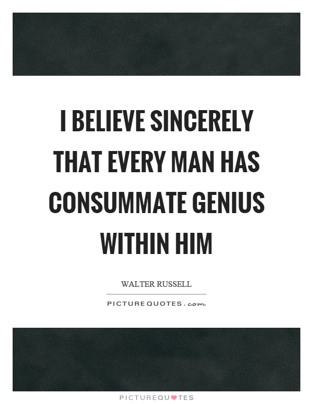 The Genius Within?