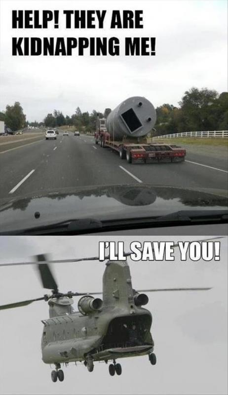 Help! They are kidnapping me! I'll save you! Picture Quote #1