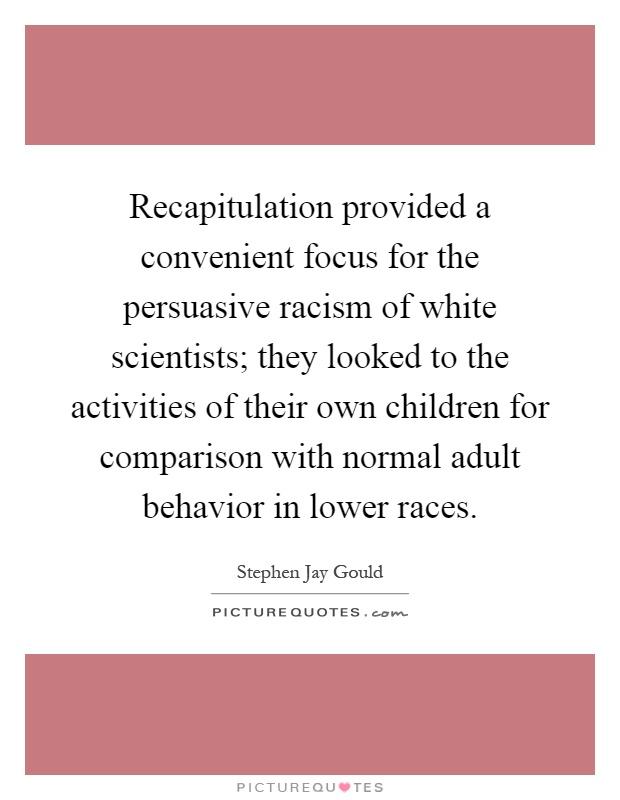 persuasive essay racism